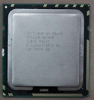 E5640同I7-920)1366 X58 XEON INTEL CPU正式版E5620 L5520 930 E5630