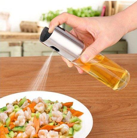 台灣現貨24H快速出貨 304不銹鋼噴油瓶健身廚房食用油噴霧氣壓式燒烤噴油瓶噴霧橄欖油噴霧控油壺