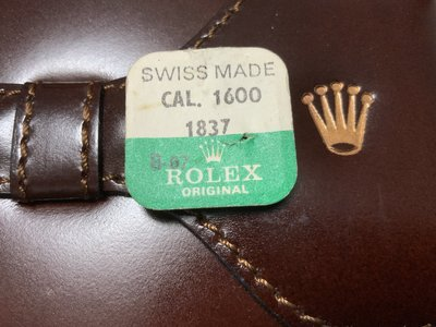 Happy Day - 原裝勞力士CAL. 1600 專用錶芯