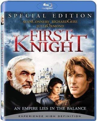 BD 全新美版【第一武士】【FIRST KNIGHT】Blu-ray 藍光 李察吉爾