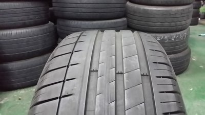 巴伐利亞國際附屬輪業(屏東廠)-中古單一跛腳輪胎-米其林PS3-215/55/17X1