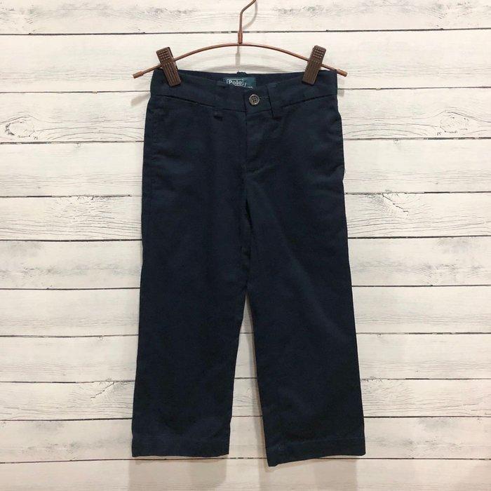 Maple麋鹿小舖 美國購買 童裝品牌POLO RALPH LAUREN 男童深藍色長褲 * ( 現貨3T )