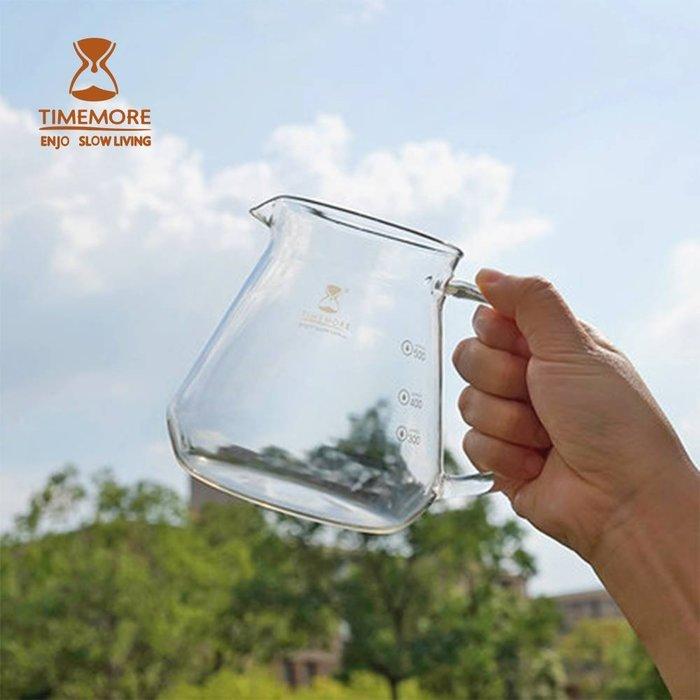 TIMEMORE泰摩咖啡玻璃分享壺-600ml