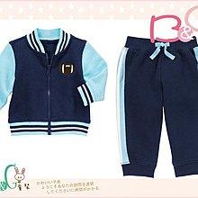 【B& G童裝】正品美國進口GYMBOREE 橄欖球圖樣長袖外套加長褲一組套裝12-18mos