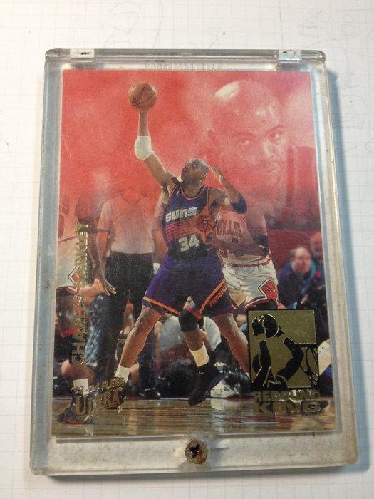 1993-94 Fleer Ultra Rebound Kings Insert #1 - CHARLES BARKLE