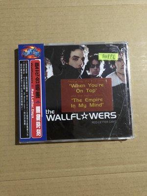 *還有唱片二館*WALL FLOWERS / RED LETTER DAYS 全新 A0996 (殼破.下標幫結)
