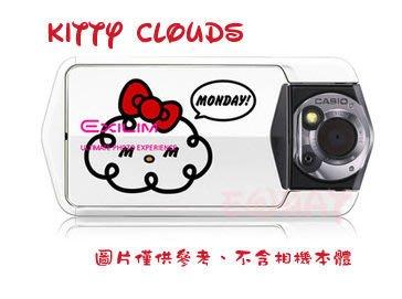 【eWhat億華】Casio TR150 TR-150 專用機身貼 卡通系列 KITTY CLOUDS 適用 TR200 TR100 現貨出清 【1】