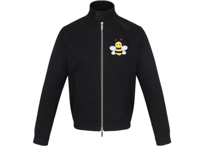 【紐約范特西】預購 KAWS x Dior Bee Drill Jacket Black