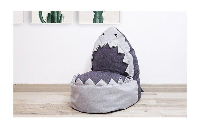 [ Atelier Smile ]  鄉村雜貨 ins兒童沙發 鯊魚造型 寶寶沙發 懶人椅 可拆洗 兒童家具 (免運)