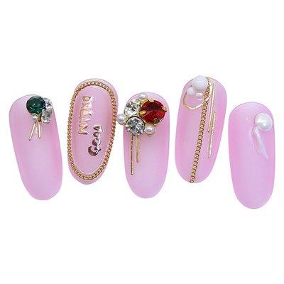 可樂屋 日本展會同款0.5mm美甲細棍細金針指甲金屬棒 美甲鉆飾品DIY 配件/訂單滿200元出貨
