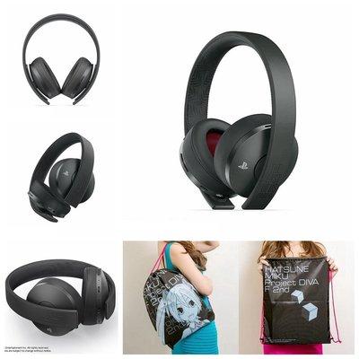 台中電玩小舖~PS4 最後生還者2 二部曲 限量無線立體聲耳機組 CUHYA-0080SB & 初音未來後背包