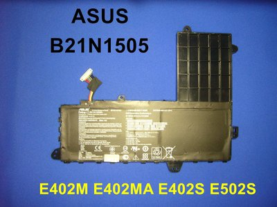 ☆TIGER☆ASUS 原廠 E402M E402MA E402S E502S B21N1505 電池 台中市