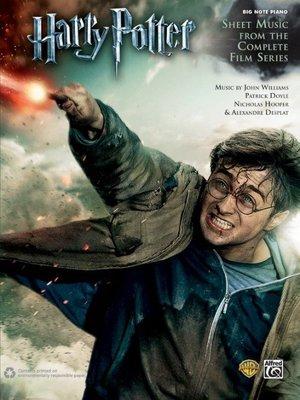 哈利波特電影全系列完整樂譜鋼琴譜(大音符版)HARRY POTTER : SHEET MUSIC From COMPLE