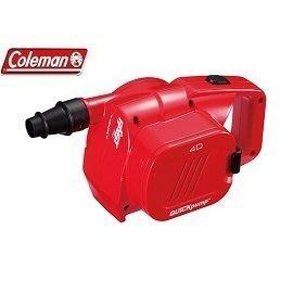 【山野賣客】Coleman美國 QUICKPUMP 充電式幫浦 打氣機 充氣機 適用充氣床/露營睡墊/充氣墊 CM-23