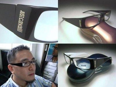 信義計劃 眼鏡 JUST Cavalli JC65 光學眼鏡 黑色膠框 eyeglasses