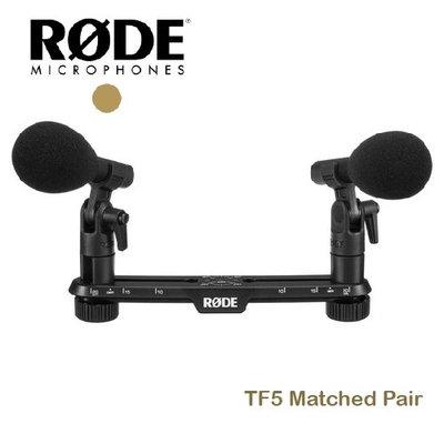 『E電匠倉』RODE TF5 Matched Pair 槍型 麥克風 電容式 收音 TF5MP 心形指向性 清晰度 錄音