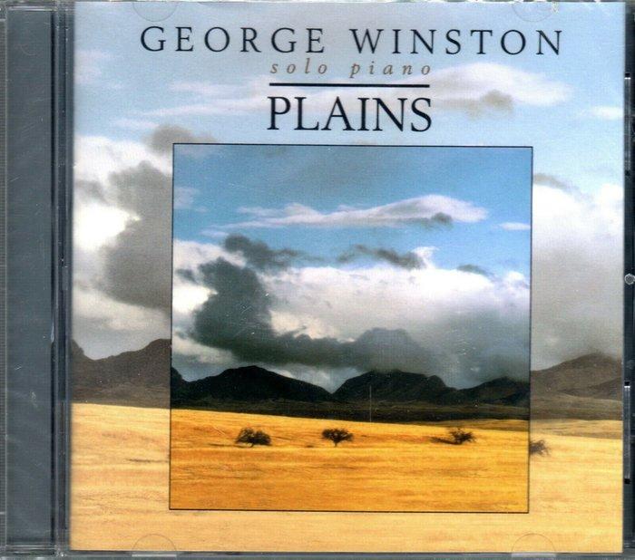美版CD《喬治溫斯頓》大草原 /GEORGE WINSTON PLAINS全新未拆