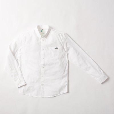 【YOYOGI PLUS】ADLIB - Embroidery Shirt (ST436) 白