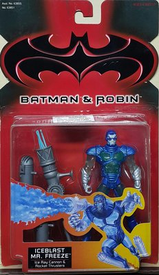 全新 KENNER BATMAN & ROBIN 蝙蝠俠與羅賓 ICE BLAST MR FREEZE 急凍人