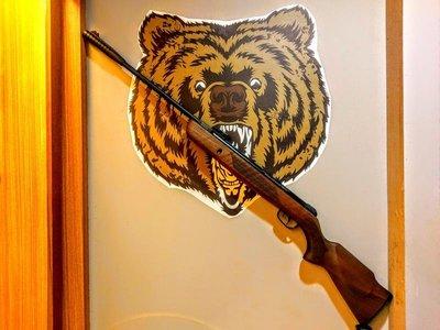 北投熊賀模型:最高CP值的折槍 KRAL N-01W 全鋼製折槍 5.5mm 全金屬槍管座 鋼製板機組
