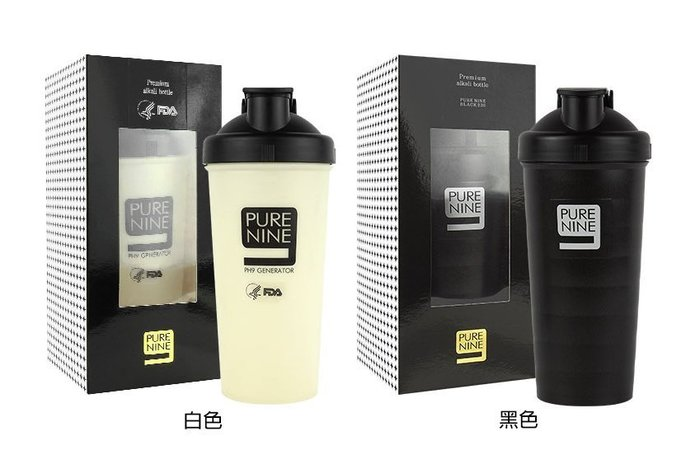 *KR Garden* 韓國連線 總代理原裝正品 PURE NINE 智能轉鹼水壺 河智苑代言裸瓶水壺 現貨