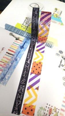 【R的雜貨舖】紙膠帶分裝 日本mt和紙膠帶 萬聖限定 letter+點線 (兩款1組不拆 各100cm)