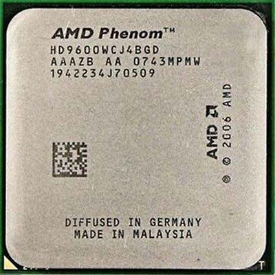 【含稅】AMD Phenom X4 9600 2.3G HD9600WCJ4BGD 四核四線 95W 正式CPU 一年保