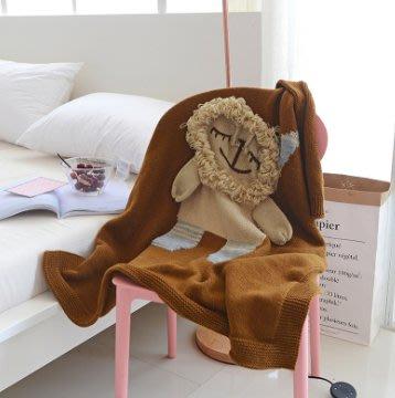 DCYT-17038可愛卡通INS風嬰幼童四方型棉絨蓋毯(臻)