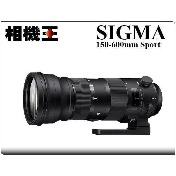 ☆相機王☆Sigma S 150-600mm F5-6.3 DG OS HSM〔Canon版〕公司貨【接受預訂】2