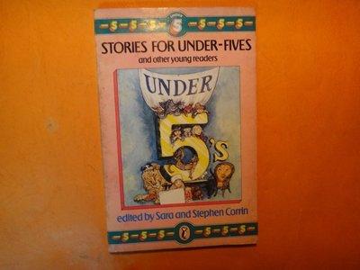 【愛悅二手書坊 07-01】Storys for under- fives