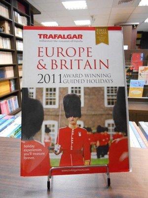 天母二手書店*Europ & Britain 2011 Award-Winning Guide Holidays
