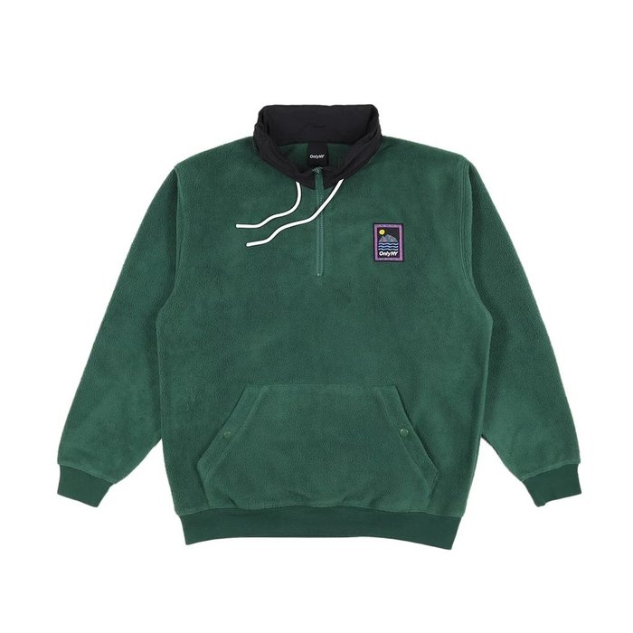 { POISON } ONLY NY OUTDOOR GEAR FLEECE PULLOVER 戶外風格套頭衫 獵綠