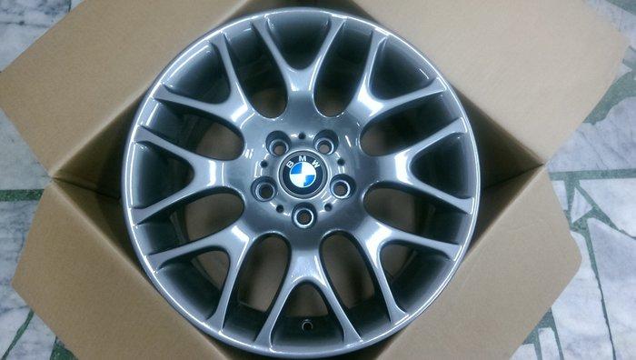 【AS輪胎】外匯拆車品 5*120 3系列 前後配 18吋鋁圈 鐵灰色