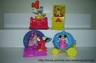 【東台】1997麥當勞迪士尼世界25週年慶典一套4款(未拆封)S24
