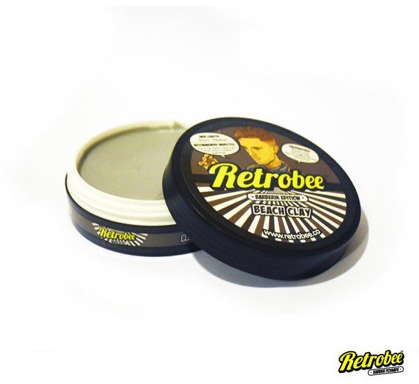 GOODFORIT / 馬來西亞RETROBEE Barber Clay無光髮泥/100g