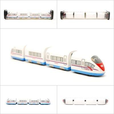 【喵喵模型坊】TOUCH RAIL 鐵支路 Q版 俄國高鐵Velaro RUS小列車 ( QV028T1)