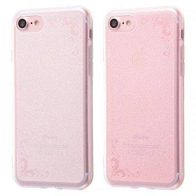 尼德斯Nydus 日本正版 特殊加工 透明雕花 TPU 軟殼 手機殼 5.5吋 iPhone7 Plus