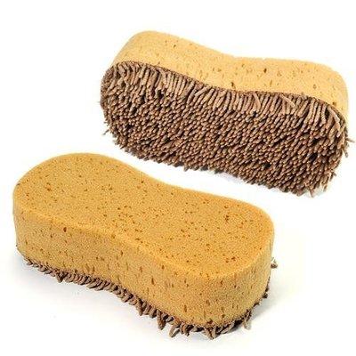 LoVus 優質8字長毛絨防滑痕洗車海綿清潔清潔海綿