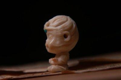 【三顧茅廬 】精品匠人手作 化石類目鹿角--- 精雕『大聖歸來 』
