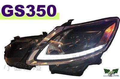 小亞車燈改裝*全新 LEXUS GS300 GS350大燈 06 07 08 09  R8燈眉黑框魚眼 大燈