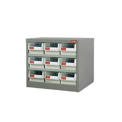 附發票(東北五金)樹德 SHUTER 零件盒 零件櫃 公文櫃 資料櫃 置物櫃 耐重抽 工具箱HD-309 (來電3200