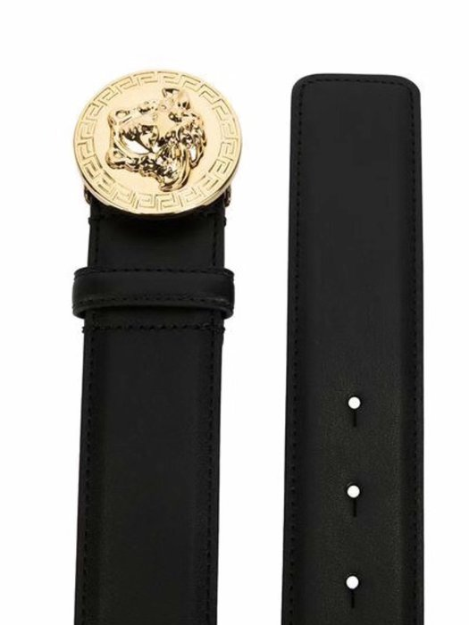 2019  versace  金色 lion 造型 皮帶  限時折扣