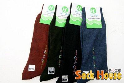 精緻薄款-紳士男襪(顏色隨機) J-12478