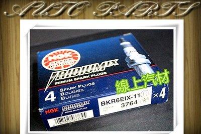 NGK 火星塞/銥合金/BKR6EIX-11 PREMACY/SMART 0.6 97-/SWIFT/SX4/MAZDA