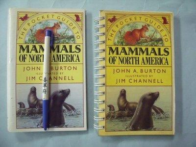 【姜軍府】《MAMMALS OF NORTH AMERICA 隨身書!》JOHN A. BURTON 北美哺乳動物