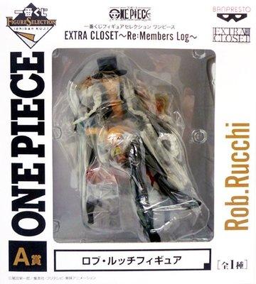日本正版一番賞 海賊王 航海王 EXTRA CLOSET Re:Members Log A賞 路基 模型 公仔 日本代購