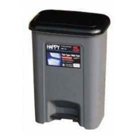 【達潔生活百貨】強強腳踏式垃圾桶(25L)※顏色隨機出貨 台南市