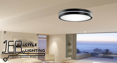 【168 Lighting】Oreo夾心《LED吸頂燈》(兩款)大款GE 81163-2