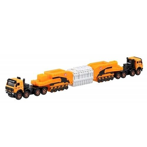 TOMICA 超長型小汽車 No.127 賓士4850 240型 壓路機 98177