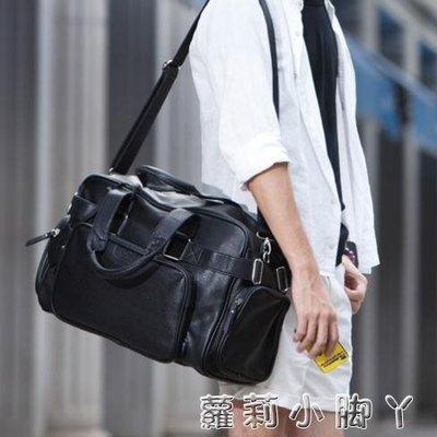 旅行袋新款旅行男包韓版男包手提單肩男包大容量行李包出差包大 蘿莉小腳ㄚ